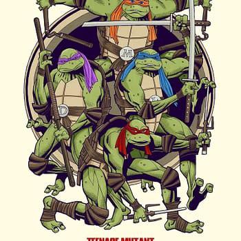 Mick McMahon Draws Teenage Mutant Ninja Turtles For Thought Bubble