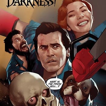 League Of Extraordinary Ash Williams in Death To The Army Of Darkness Comic From Ryan Parrott and Jacob Edgar
