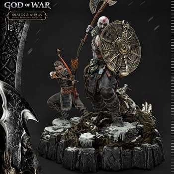 Own Ivaldis Deadly Mist Armor with the New God of War Statue