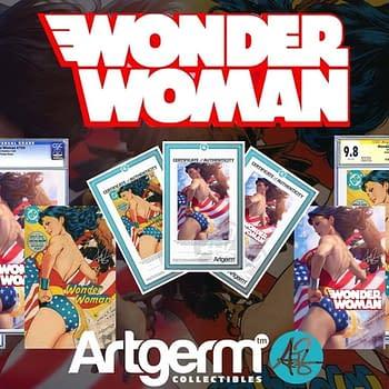 Stanley Artgerm Lau Reveals His Wonder Woman #750 Covers