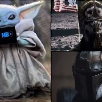 Watchmen: Damon Lindelof Respects The Mandalorian Way Baby Yoda Sips Hater Tears