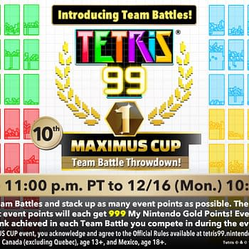 Tetris 99 Gets A New Update In Time For 10th Maximus Cup