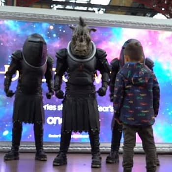 Doctor Who Series 12: The Judoon Surprise London Victoria Station Commuters Wouldnt Get NYC Second-Glance [VIDEO]