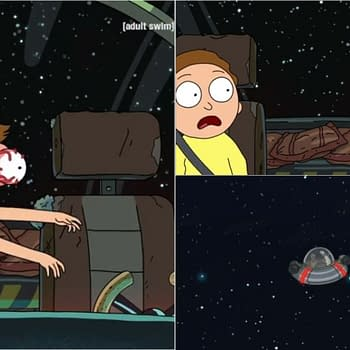 Rick and Morty Season 4 Rattlestar Ricklactica: Might Be Safer OUTSIDE Ricks Ship [PREVIEW]