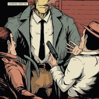 The Fuhrer And The Tramp #1 and Hank Steiner Monster Detective #1 Launch in Source Point March 2020 Solicits