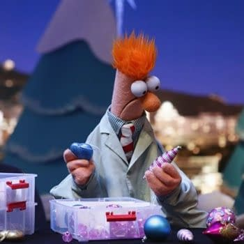 Dr. Bunsen Honeydew and Beaker delight the crowd at The Game Awards