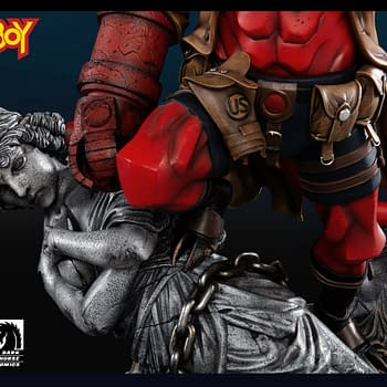 Hellboy Brings the Heat with New Statue from XM Studios