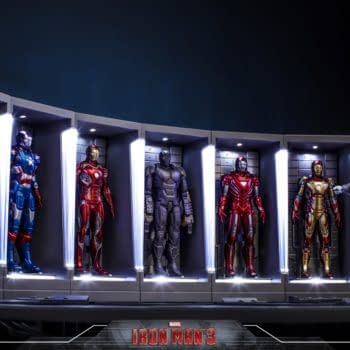 Iron Man Hall of Armor Gets a Second Series from Hot Toys