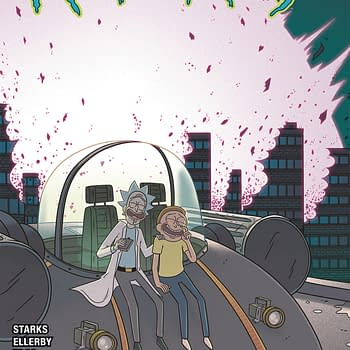 Rick And Mortys Final Comic Book in Oni Press March 2020 Solicitations