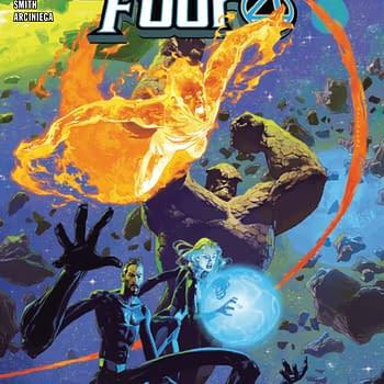 Johnny Storm Reveals Santas Secret Identity in Annihilation Scourge: Fantastic Four #1 [Preview]