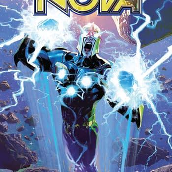 Is Nova a Germaphobe Annihilation Scourge: Nova #1 [Preview]