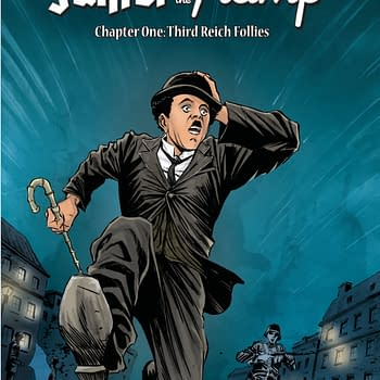The Fuhrer And The Tramp #1 and Hank Steiner: Monster Detective #1 Launch in Source Point March 2020 Solicits