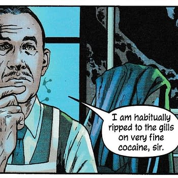 Alfred Pennyworth on Cocaine and Lex Luthor Has His Version of Alexa in The Batmans Grave #3 (Spoilers)