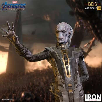 Ebony Maw Joins the Endgame with New Statue from Iron Studios