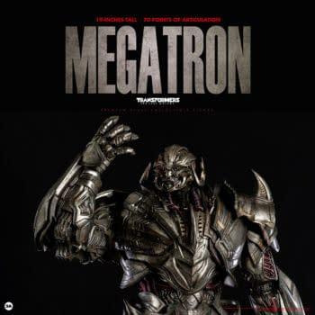 Megatron Wants Blood with New Threezero and Hasbro Figure