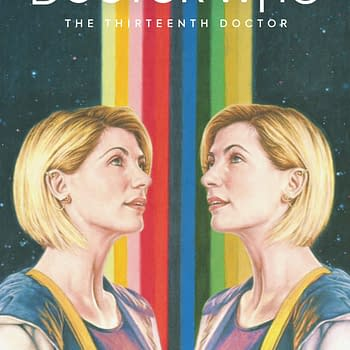 Tenth Doctor/Thirteenth Doctor Crossover With Horizon Zero Dawn Neil Gaiman and Irene Adler in Titan Comics March 2020 Solicitations