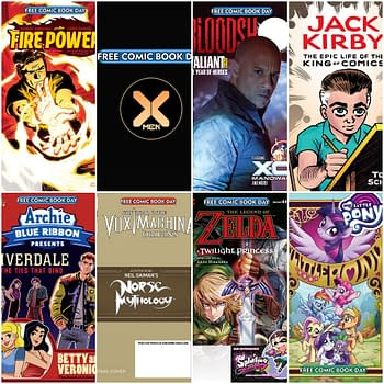 Free Comic Book Day 2020 Gold Titles include Critical Role Vin Diesels Bloodshot Zelda and X-Men
