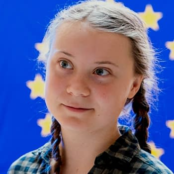 Greta Thunberg in Batman: Dark Knight Returns: The Golden Child &#8211 Same Day as Time Magazines Person Of The Year
