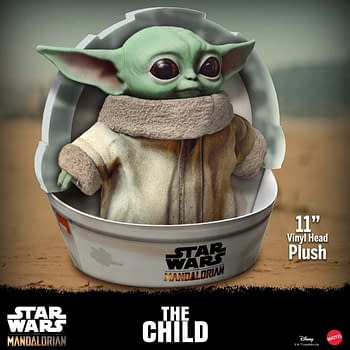 Baby Yoda Brings the Cuteness with the New Plush Toy from Mattel