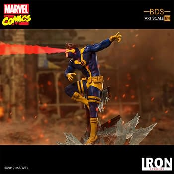 Cyclops Blasts His Way in with New Iron Studios Statue