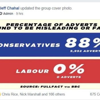 When a Comic Book Facebook Group Gets Political The Day Before a General Election