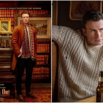 'Knives Out': Chris Evans Promo Sweaters are a Great Idea, and Real