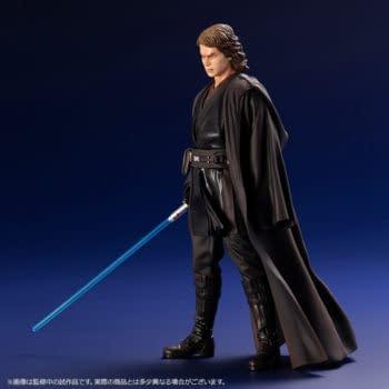 Anakin Skywalker Has Fallen in New Star Wars Kotobukiya Statue