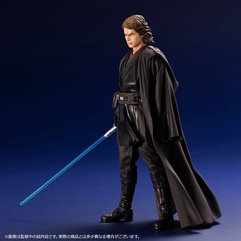 Anakin Skywalker Has Fallen in New Star Wars Kotobukiya Statue