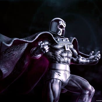 Magneto is the Master of Magnetism with New Statue from Royal Selangor