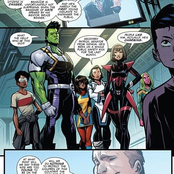 Senator Geoffrey Patrick Comes to Marvels Incoming #1 &#8211 Which Side Are You On (Spoilers)