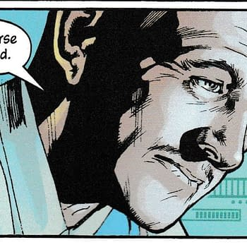 Did Bryan Hitch Cast David Niven as Alfred Pennyworth in The Batmans Grave