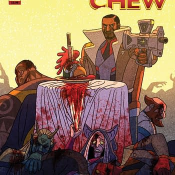 Chew and Outer Darkness to Crossover at Image by John Layman Afu Chan and Rob Guillory