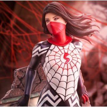 Silk Enters the Spider-Verse with New Kotobukiya Statue