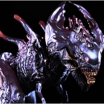 Xenomorph T-Rex Comes to Life with REBORs Bloodlord X-Rex Figure