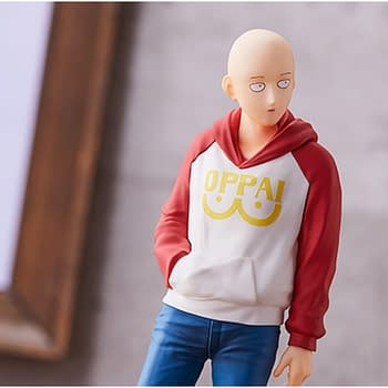 One Punch Man Takes it Easy with New Good Smile Company Statue