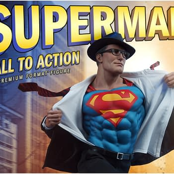 Superman Jumps into Action with Sideshow Collectibles [First Look]