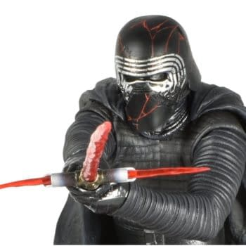 Kylo Ren Rises with New Star Wars Statue from Diamond Gallery