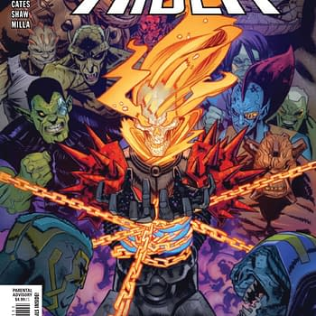 This Preview of Revenge of the Cosmic Ghost Rider #1 is a Riot