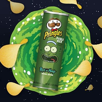 Rick and Morty &#038 Pringles Teaming Up for Pickle Rick Crisps Animated NFL Super Bowl LIV Ad