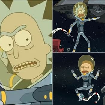Rick and Morty Season 4 Rattlestar Ricklactica: Were Glad Morty Didnt Stay In the F***ing Car (Sorry Rick) [SPOILER REVIEW]