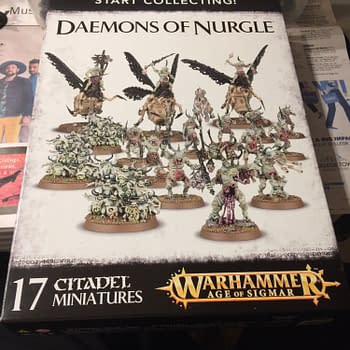 Review &#8211 Games Workshops Start Collecting Daemons of Nurgle Box