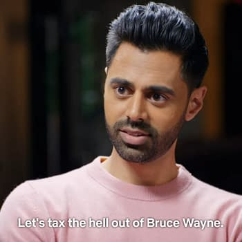 I Want to Make Batman Unnecessary &#8211 Hasan Minhaj and Anand Giridharadas Take on Bruce Wayne in The Patriot Act