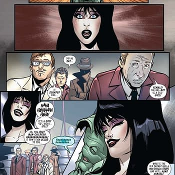 David Avallones Writers Commentary on The Shape Of Elvira #4 &#8211 Yes Its Late Buy Him a Drink And He Will Tell You Why