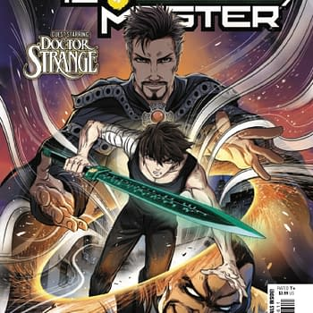 Doctor Strange has Severe Boundary Issues in Sword Master #6 [Preview]