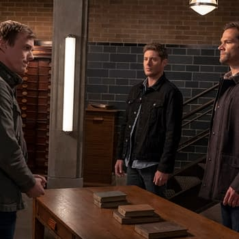 Supernatural Season 15 Our Father Who Arent in Heaven: Think YOUR Holiday Family Reunions Are Awkward [PREVIEW]