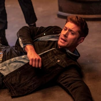 """Supernatural -- """"Our Father, Who Aren't in Heaven"""" -- Image Number: SN1508B_0193b.jpg -- Pictured: Jensen Ackles as Dean -- Photo: Colin Bentley/The CW -- © 2019 The CW Network, LLC. All Rights Reserved."""