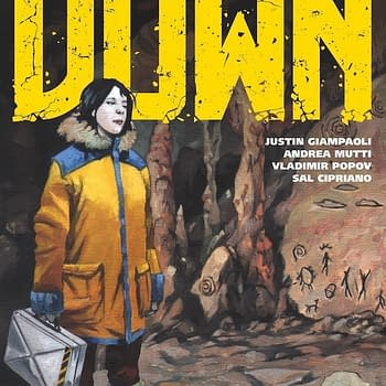 Starship Down Retcons Human History from Justin Giampaoli and Andrea Mutti in March
