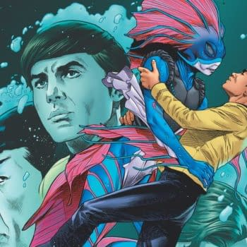 """REVIEW: Star Trek Year Five #9 -- """"Some Wild, Intriguing New Ideas"""""""
