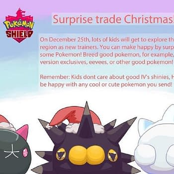 Pokémon Sword &#038 Shield Surprise Trade Christmas Devised