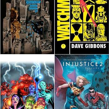 HBO DC Comics Adaptation  Fuelling Watchmen Sandman and Green Lantern Bookstore Sales